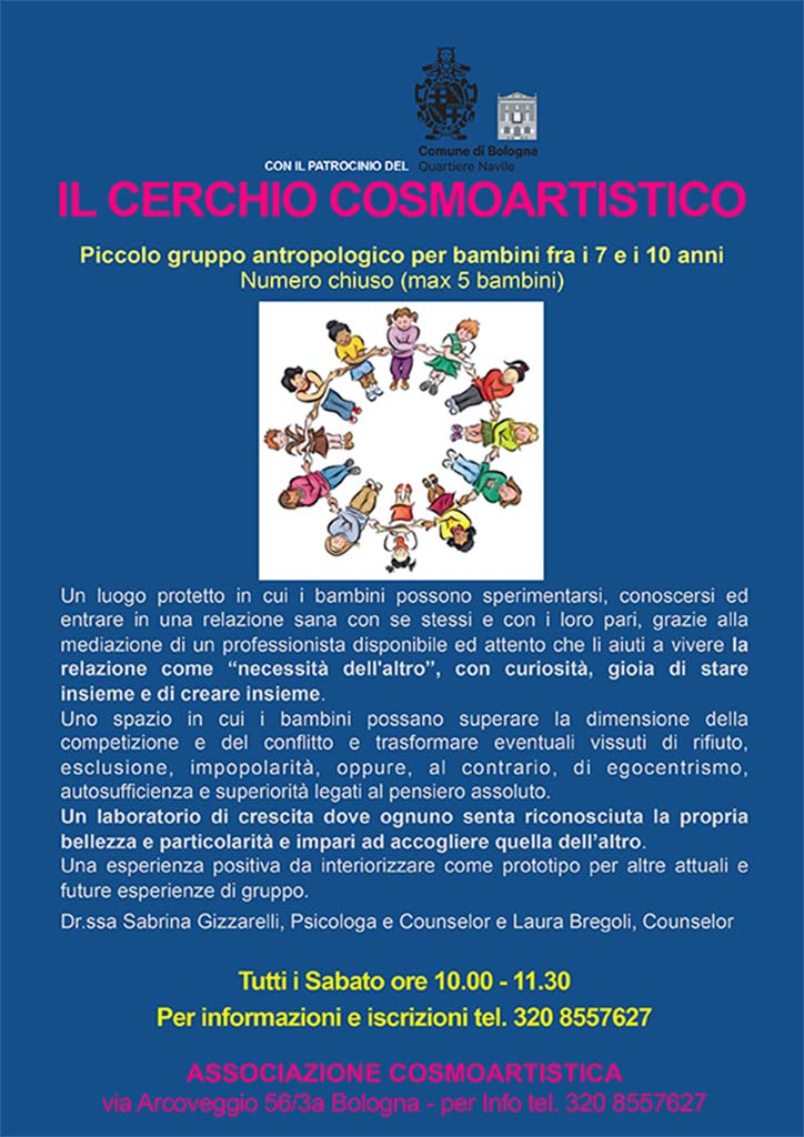 Corso Il Cerchio Cosmoartistico